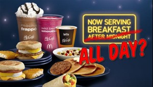 Everything Is Marketing Episode 125 McDonald's All Day Breakfast is it a win?